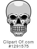 Royalty-Free (RF) Skull Clipart Illustration #1291575