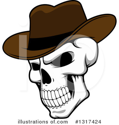 Cowboy Clipart #1317424 by Vector Tradition SM