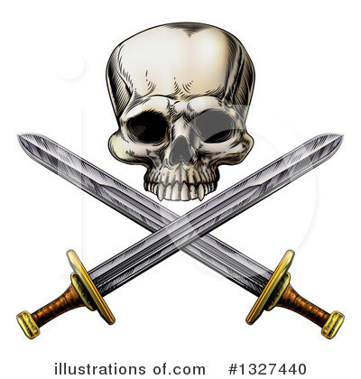 Pirate Clipart #1327440 by AtStockIllustration