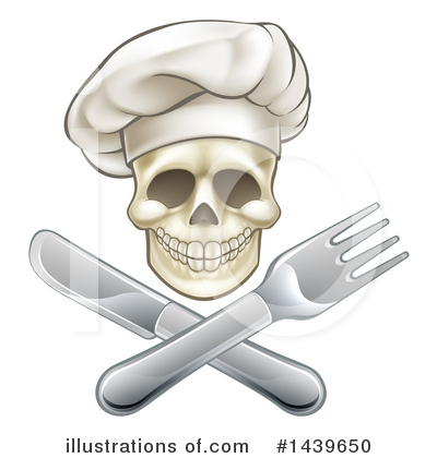 Chef Hat Clipart #1439650 by AtStockIllustration