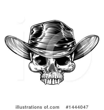 Cowboy Clipart #1444047 by AtStockIllustration