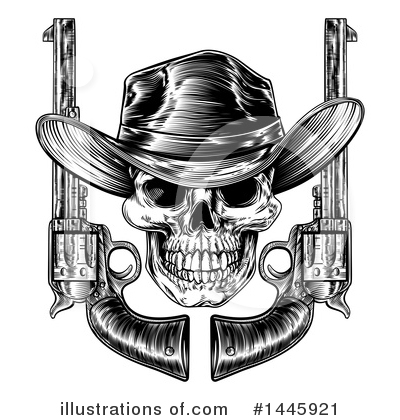 Cowboy Clipart #1445921 by AtStockIllustration