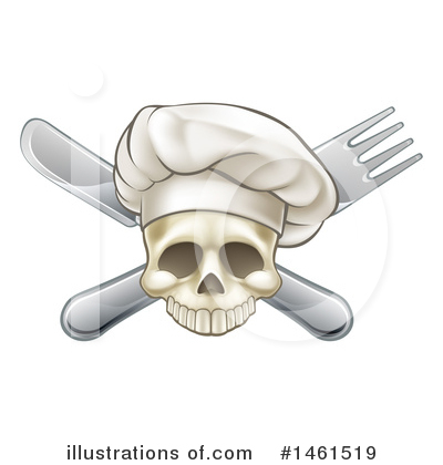 Chef Hat Clipart #1461519 by AtStockIllustration