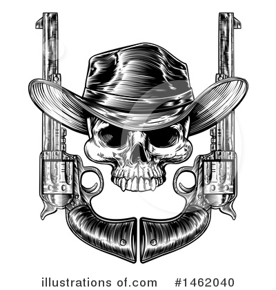 Cowboy Clipart #1462040 by AtStockIllustration