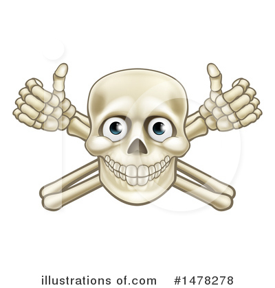 Skeleton Clipart #1478278 by AtStockIllustration