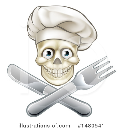 Chef Hat Clipart #1480541 by AtStockIllustration