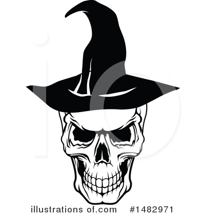 Witch Clipart #1482971 by Vector Tradition SM