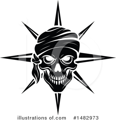 Pirate Clipart #1482973 by Vector Tradition SM