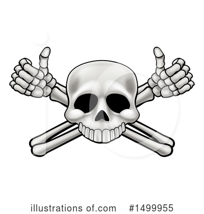 Skeleton Clipart #1499955 by AtStockIllustration