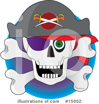Pirate Clipart #15052 by Maria Bell
