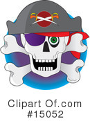 Skull Clipart #15052 by Maria Bell