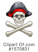 Skull Clipart #1570831 by AtStockIllustration