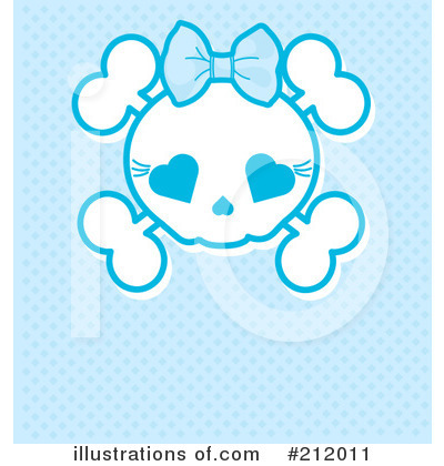 Skull Clipart #212011 by Pushkin