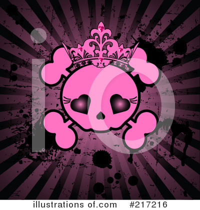 Skull Clipart #217216 by Pushkin