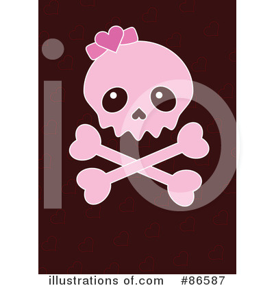 Skull Clipart #86587 by Pushkin