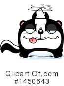 Skunk Clipart #1450643 by Cory Thoman