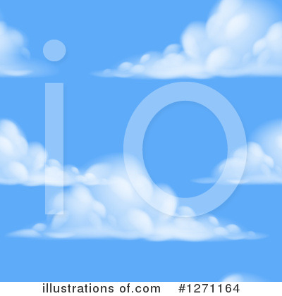 Cloud Clipart #1271164 by AtStockIllustration