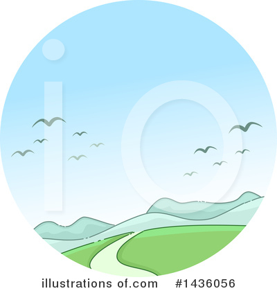 Royalty-Free (RF) Sky Clipart Illustration by BNP Design Studio - Stock Sample #1436056