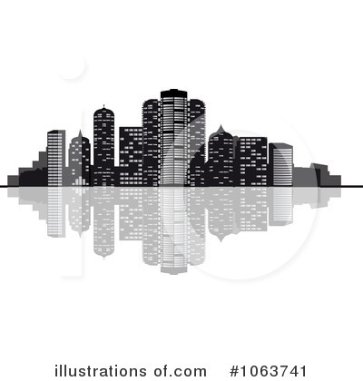 Royalty-Free (RF) Skyline Clipart Illustration by Seamartini Graphics - Stock Sample #1063741