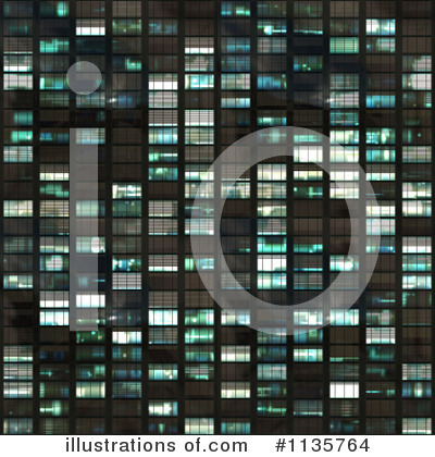 Royalty-Free (RF) Skyscraper Clipart Illustration by Ralf61 - Stock Sample #1135764