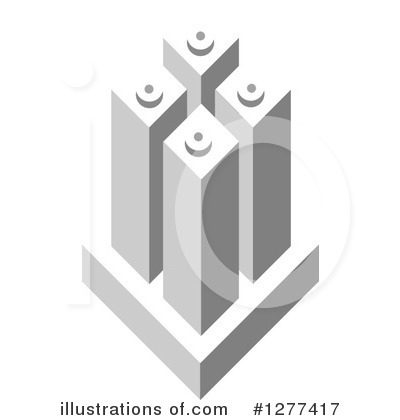 Royalty-Free (RF) Skyscraper Clipart Illustration by Lal Perera - Stock Sample #1277417