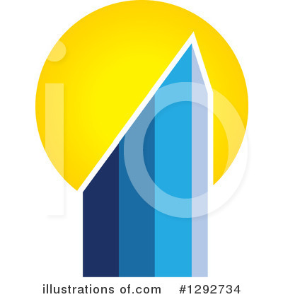 Skyscraper Clipart #1292734 by ColorMagic