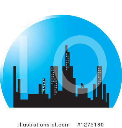City Clipart #1275180 by Lal Perera