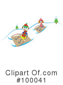 Sledding Clipart #100041 by Prawny