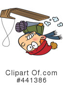 Sledding Clipart #441386 by toonaday