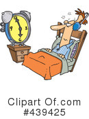 Royalty-Free (RF) Sleep Clipart Illustration #439425