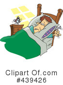 Royalty-Free (RF) Sleep Clipart Illustration #439426