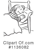 Royalty-Free (RF) Sleepign Clipart Illustration #1136082