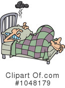 Royalty-Free (RF) Sleeping Clipart Illustration #1048179