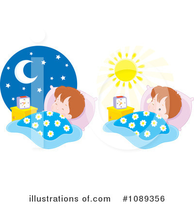 Wake Up Clipart #1089356 by Alex Bannykh
