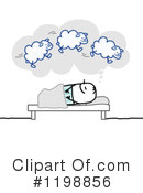Sleeping Clipart #1198856 by NL shop