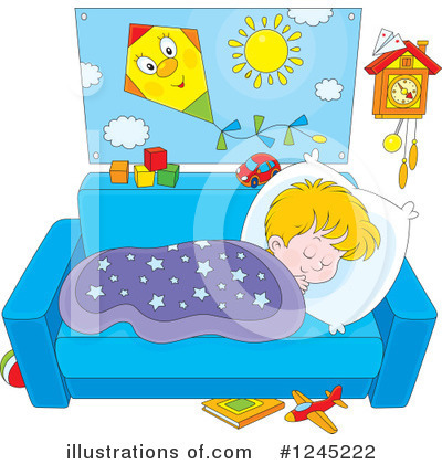 Sleeping Clipart #1245222 by Alex Bannykh