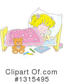 Sleeping Clipart #1315495 by Alex Bannykh