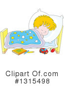 Sleeping Clipart #1315498 by Alex Bannykh