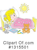 Sleeping Clipart #1315501 by Alex Bannykh