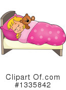 Sleeping Clipart #1335842 by visekart