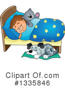 Sleeping Clipart #1335846 by visekart