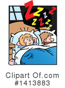 Sleeping Clipart #1413883