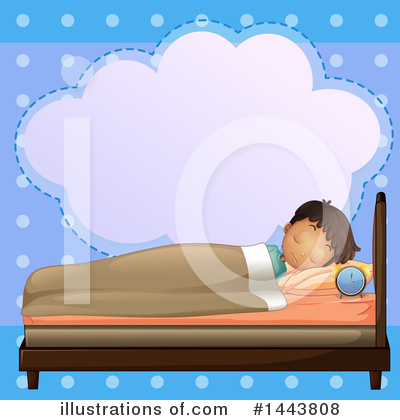 Bed Clipart #1443808 by Graphics RF