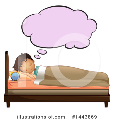 Bed Clipart #1443869 by Graphics RF