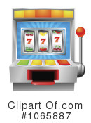 Slot Machine Clipart #1065887