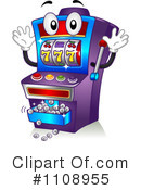 Slot Machine Clipart #1108955