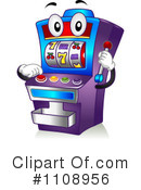 Slot Machine Clipart #1108956