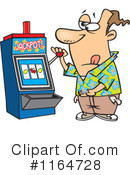Slot Machine Clipart #1164728
