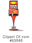 Slot Machine Clipart #63585