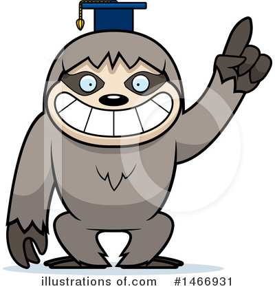 Royalty-Free (RF) Sloth Clipart Illustration by Cory Thoman - Stock Sample #1466931